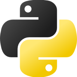 Python Logo with Pittsburgh colors